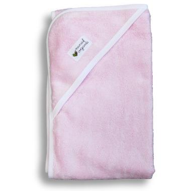 Nanaf Organic, BAMBUS, Ręcznik bambusowy 85x85, różowy
