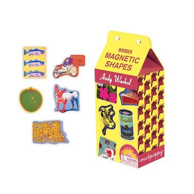 Mudpuppy, Zestaw drewnianych magnesów Andy Warhol 35 elementów