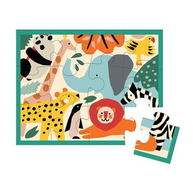 Mudpuppy, Puzzle w saszetce Dzikie Zwierzęta 12 elementów