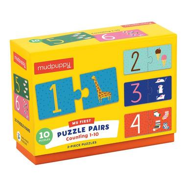 Mudpuppy, Puzzle do nauki liczenia od 1 do 10