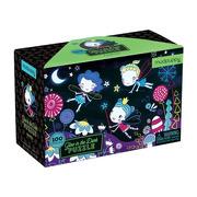 Mudpuppy, Puzzle świecące w ciemności Wróżki 100 elementów