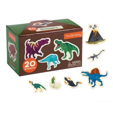 Mudpuppy, Zestaw magnesów Dinozaury 20 elementów