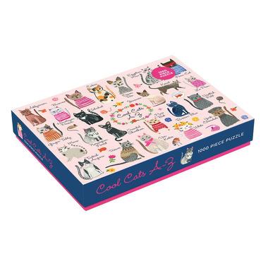 Mudpuppy, Puzzle rodzinne Koty 1000 elementów