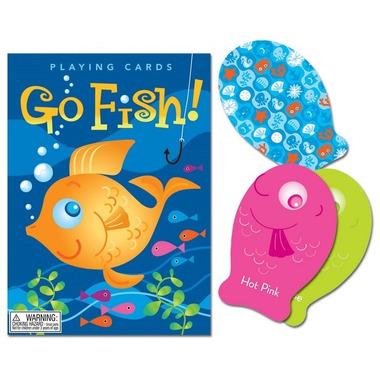 Eeboo, Gra karciana Color Go Fish! (pozbieraj rybki)