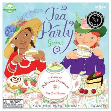 Eeboo, Gra Tea Party (zrób podwieczorek)