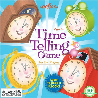 Eeboo, Gra Time Telling Czas i zegar