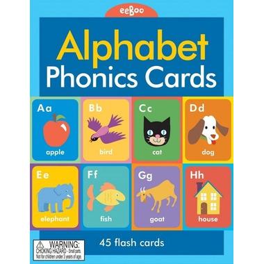 Eeboo, Karty do nauki Alfabet w języku angielskim