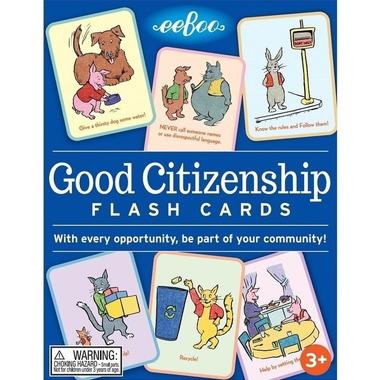 Eeboo, Karty do nauki Good Citizenship Społeczeństwo