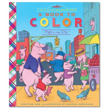 Eeboo, Kolorowanka Pigs in the City
