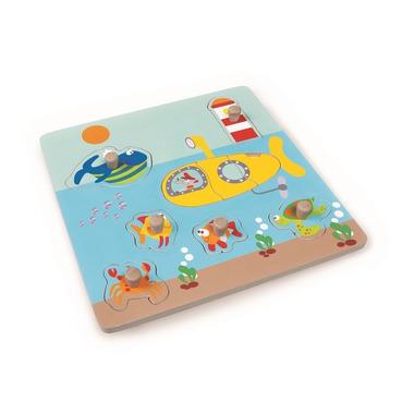 Scratch, Puzzle z uchwytem Ocean