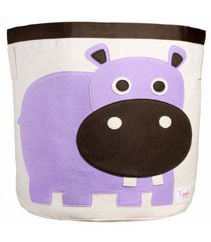 Kosz na zabawki Hippopotam