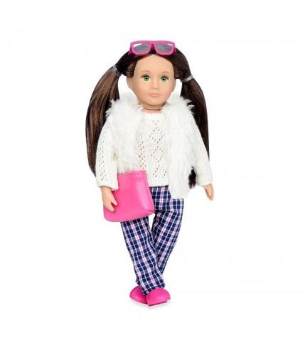 Lori, Lalka WITNEY - brunetka, spodnie w kratkę