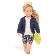 Lori, Lalka FAITH - włosy ciemny blond, żółte okulary