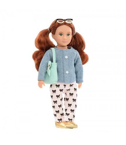 Lori, Lalka AUTUM - rudowłosa w spodnie w kokardki