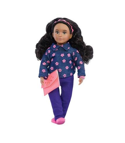 Lori, Lalka ANNE MAE - ciemnoskóra, czarne włosy