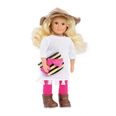 Lori, Lalka BREANNA - blondynka, biała tunika, kapelusz