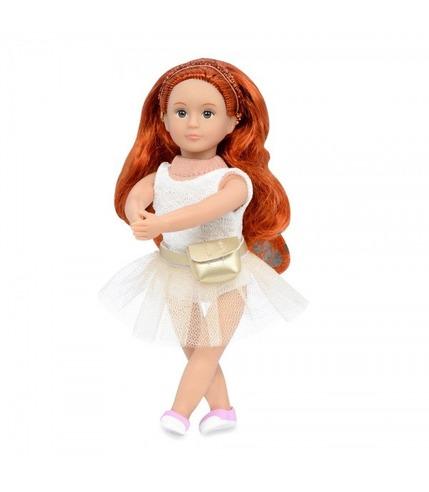 Lori, Lalka MABEL - baletnica, rudowłosa, złota opaska