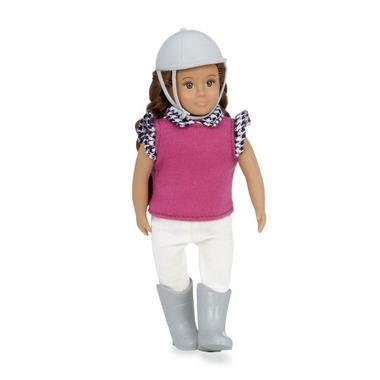 Lori, Lalka KARIN - dżokejka, szatynka z warkoczami