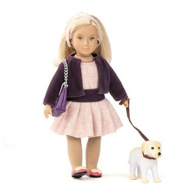 Lori, Lalka HAZEL - blondynka z psem rasy Golden Retriever