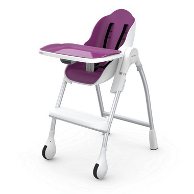 ORIBEL, Krzesełko do karmienia ŚLIWKA Cocoon™
