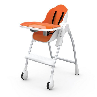 ORIBEL, Krzesełko do karmienia POMARAŃCZ Cocoon™