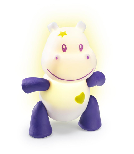 Lampka przytulanka LUMILOVE Hippopotam