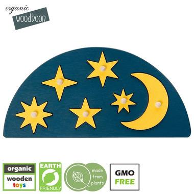 Organic Woodboon, MOON & STARS układanka