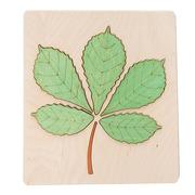 Organic Woodboon, CHESTNUT LEAF układanka
