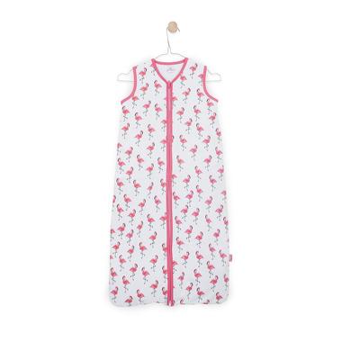 Jollein, Lekki śpiworek do spania Flamingo 6-18 miesięcy