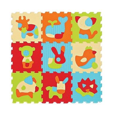 Ludi, Mata piankowa Puzzle Zwierzęta