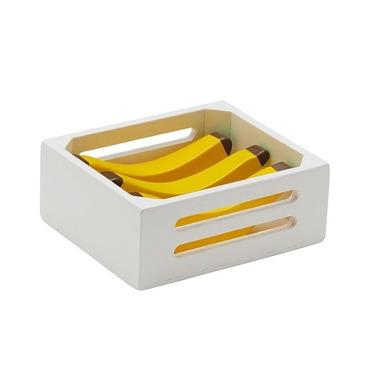 Kids Concept, Skrzynka Drewniana z Bananami