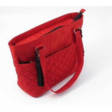 Summer, Torba Do Wózka Quilted Tote Red