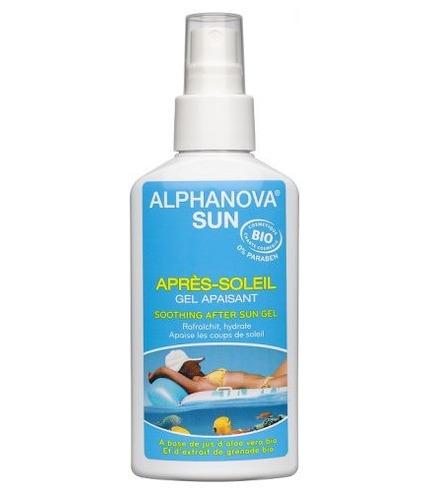 Alphanova Sun, Bio Kojący Żel po Opalaniu z Aloesem w Spray`u