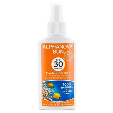 Alphanova Sun, Bio Spray Przeciwsłoneczny, filtr SPF30