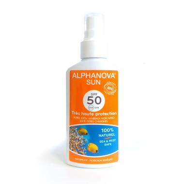 Alphanova Sun, Bio Spray Przeciwsłoneczny, filtr SPF50