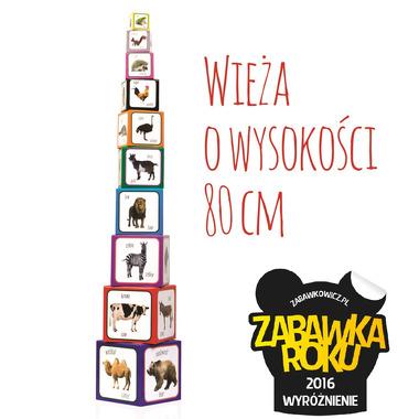 Piramida Zabaw, Kartonowe klocki dla dzieci Zwierzęta