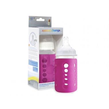 Cherub Baby, Eko-butelka 240ml Dark Pink