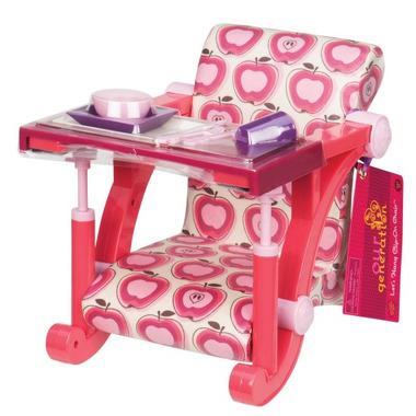 Krzesło przypinane do blatu z akcesoriami