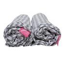 Motherhood, Otulacze muślinowe bawełniane Premium 100x120 cm Classics - Szary