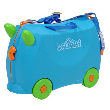 Trunki, jeżdząca walizeczka Niebieska