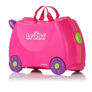 Trunki, jeżdząca walizeczka Różowa