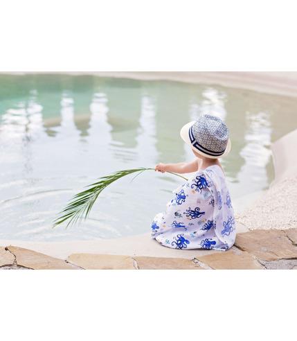 Poofi, OCEAN otulacz bambusowy ośmiornice
