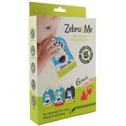 Zebra & Me, 6 PACK Saszetki do karmienia wielorazowe