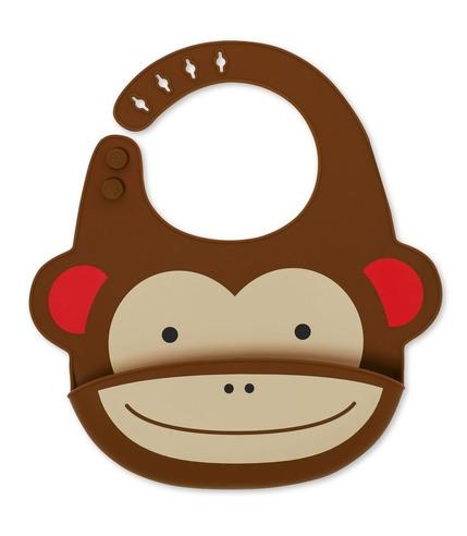 Skip Hop, Śliniak silikonowy Zoo Małpa