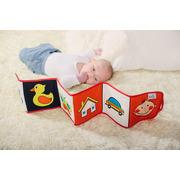 Baby Senses, Książeczka 2w1 - Pierwsze obrazki