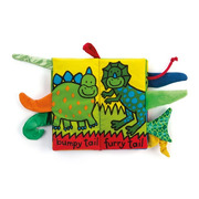 Jellycat, książeczka Dino z ogonami