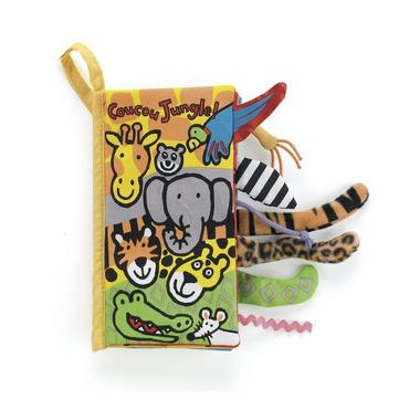 "Jellycat, Książeczka ""Jungle"" 21 cm"