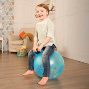 B Toys, Przeźroczysta piłka do skakania CZERWONA