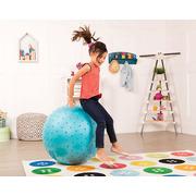 B Toys, Olbrzymia piłka z wypustkami sensorycznymi NIEBIESKA