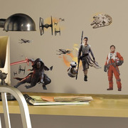 Roommates, Naklejki ścienne -Statki Star Wars VII